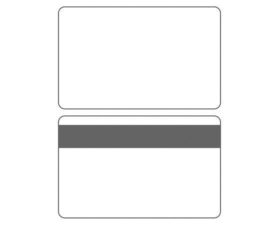 Template for printing CR80 Plastic Cards